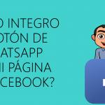 Integrar whatsapp en el boton de facebook fan page